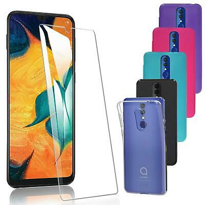 the latest b206b 1b747 FOR ALCATEL 3L (2019) 5039D New Black Clear Silicone Rubber Gel ...