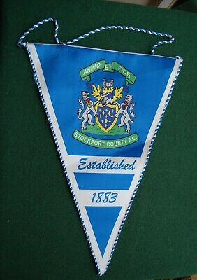 Stockport County Football Club Pennant Banner - Sports - Manchester, UK F.C