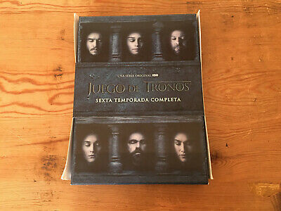 Used - GAME OF THRONES TV Series JUEGO DE TRONOS - 6 Season Temporada - Usado