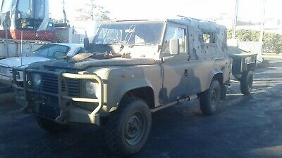 Landrover Perentie And Trailer