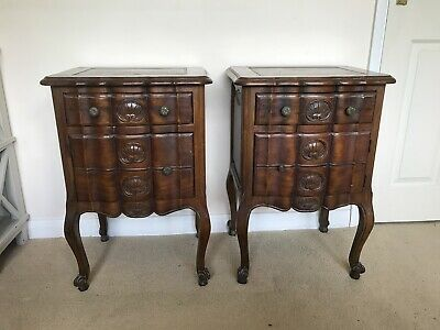 Pair Of Vintage French Bedside Cabinets