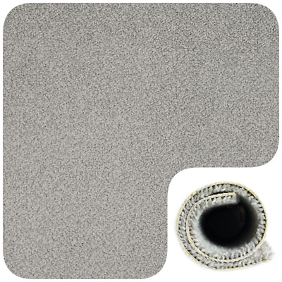 HARDWEARING 10mm Thick Light Grey Felt Back Carpet 4m Wide £6.99m²