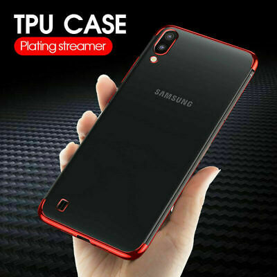 Electroplate Silicone TPU Case Skin Cover For Samsung Galaxy A20E A30 A70 S10 5G