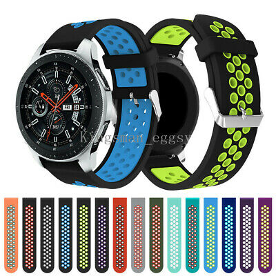 Sport Soft Silicone Replacement Band Strap for Samsung Galaxy Watch 46mm 42mm