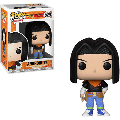 Dragon Ball Z #529 - Android 17 - Funko Pop! Animation (Brand New)