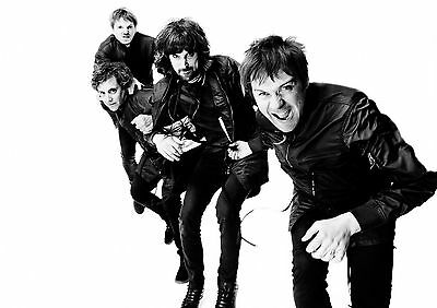 A1 - A5 SIZES AVAILABLE KASABIAN GLOSSY WALL ART POSTER PRINT