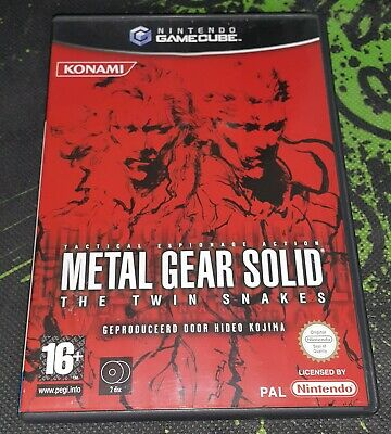Metal Gear Solid Twin Snakes on Gamecube