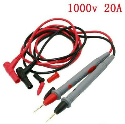 Universal Digital Multi Meter Test Lead Probe 1000V 20A 90cm UNI-T Fluke CAT-III
