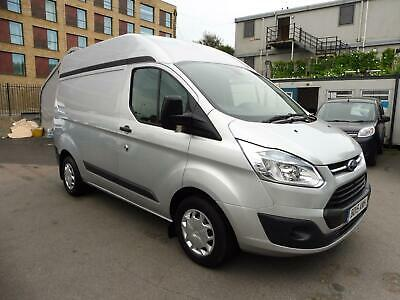 2015 Ford Transit Custom 310/125 Trend L1H2 Swb High Roof In Silver With Air Con