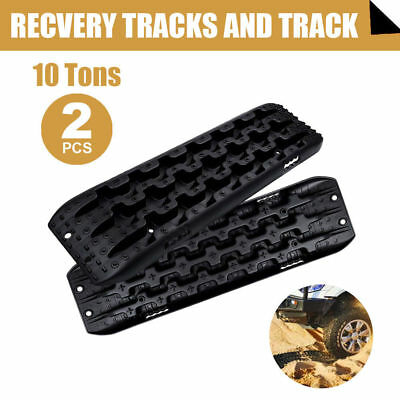New Recovery Tracks Sand Track 10T Vehicle Sand/Snow/Mud Trax Black 4WD AU