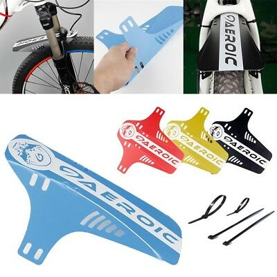 Bike Bicycle Front Rear Mudguard Fenders Road Cycling Mountain MTB Mud-Guards