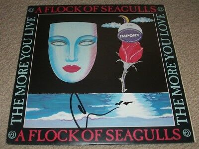 MIKE SCORE SIGNED - A FLOCK OF SEAGULLS - The More You Live The More You Love LP
