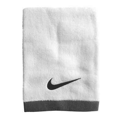ASCIUGAMANO TELO MARE UNISEX NIKE FOUNDAMENTAL TOWEL LARGE white
