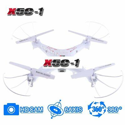 6-Axis RC X5C-1 Gyro Quadcopter Drone w/ HD Camera, 360-Degree Flipping For SYMA