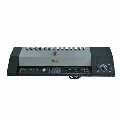 """220v 13"""" A3 Steel Thermal Hot & Cold Laminator Machine Roller Pouch Photo Office"""