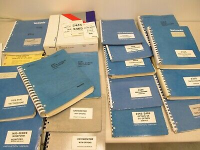Tektronix 2440 2230 2430 ...  Manuals LOT