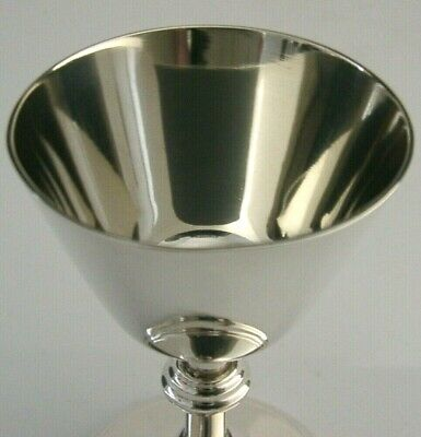 QUALITY STERLING SILVER HOLY COMMUNION GOBLET or CHALICE 1979 ENGLISH