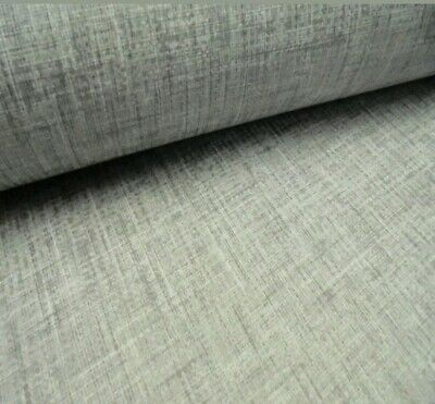 676007 Country Linen Texture By Arthouse Mid Grey With Matching Checks