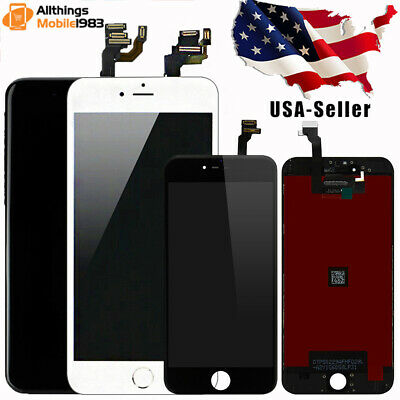 For iPhone 6 Plus LCD Digitizer Screen Replacement Complete Set With Home Button