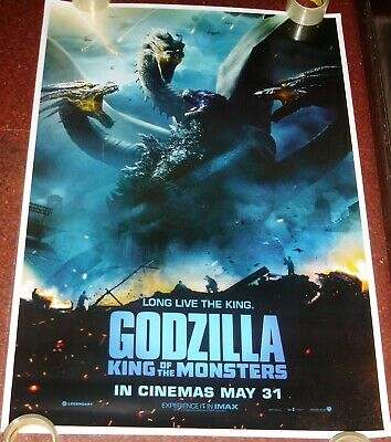 Godzilla : King Of Monsters (2019) Original Double Sided Ds Poster