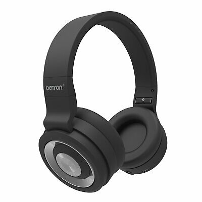 Betron Bn15 Bluetooth Headphones, Wireless, 10M Range, Built In Microphone For I