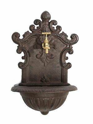 """Upright fountain with basin - antique style - cast iron - 19.9"""" (50.5cm)"""