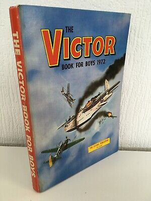 The Victor Book For Boys Annual 1972 Vintage