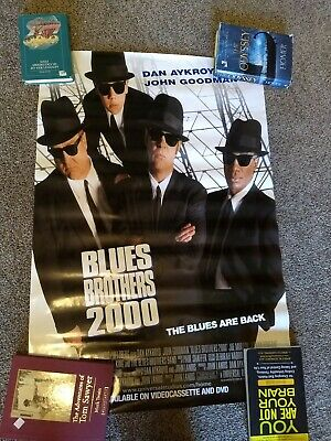 THE BLUES BROTHERS 2000 MOVIE POSTER Original SS 27x40 DAN AKROYD