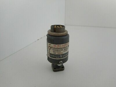 HP Agilent Keysight R486A Waveguide Thermistor Mount