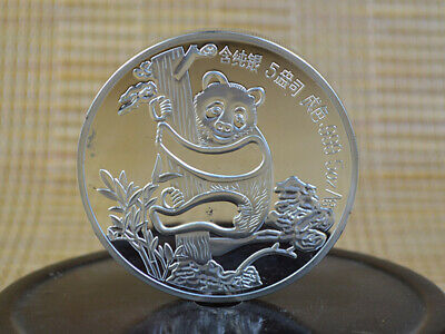 🌹Superb Old 🌹999 Silver Copper Coins🌹 China Commemorative Coin🌹 Panda1987🌹
