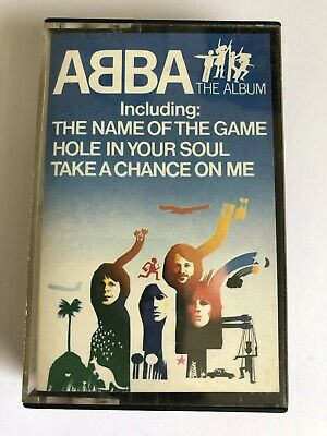 Abba The Album Cassette Tape Very Good Condition