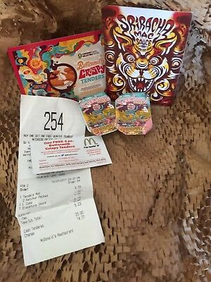 2PACKS of - McDonalds  LIMITED EDITION Rick & Morty Szechuan ORIGINAL Sauce OBO