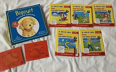 Bob Books Buscuit Phonics Readers Lot Kindergarten 1st Grade