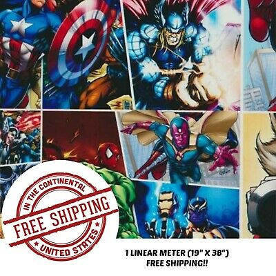 """Hydrographic Water Transfer Hydro Dip 1M 19"""" X 38"""" Dipping Film Super Hero 2"""