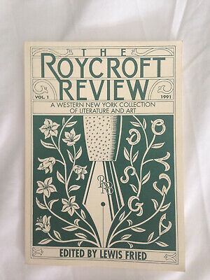 Assorted Roycroft and east Aurora New York Literature.3 Books, 1 pamphlet + more