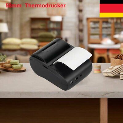 58mm 80MM Portable Bluetooth Printer 4.0 Wireless Receipt Thermal Printer