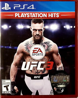 UFC 3 PS4 (Sony PlayStation 4, 2018) Brand New - Region Free
