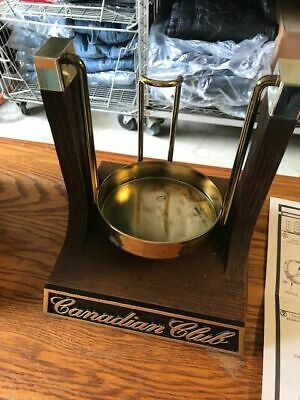 Canadian Club Classic Whiskey Cradle Pourer - NOS - NEW - A Real Nice Piece