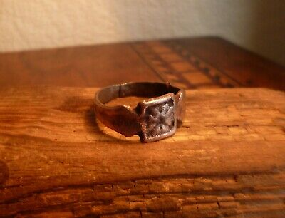 Gorgeous Late Medieval Or Tudor Ring With Rose-British Detecting Find