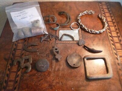 Metal Detecting Finds-Saxon/Viking To Modern-Including Silver
