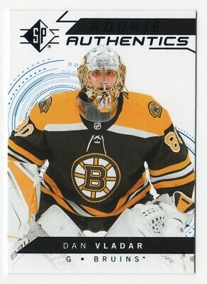 18/19 Sp Dan Vlader Rookie Authentics Blue Foil Card Retail Only