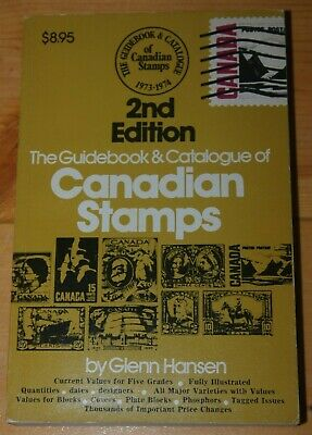 Weeda Lit: Guidebook & Catalogue of Canadian Stamps, Hansen 2nd edition 1974 VF