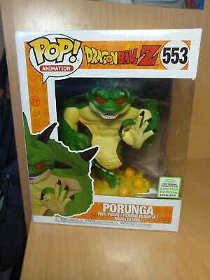 Funko pop Porunga dragon ball Z eccc 2019 spring convention limited edition 553