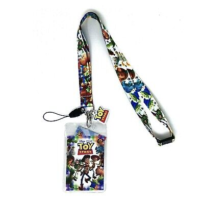Toy Story 4 Lanyard Breakaway ID Card Holder DISNEY Pin Trading Buzz Woody NEW