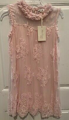 Miss Grant Designer Girls Ruffles & Lace Party Dress NWT Europe Size 40 US 11/12