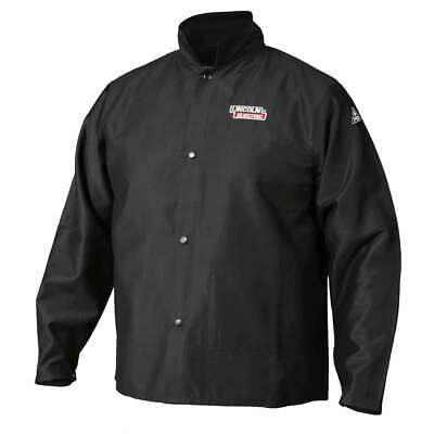 Lincoln Electric K2985 Traditional FR Cloth Welding Jacket Medium