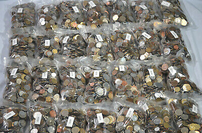 Great World Coins - Well Mixed Bulk Lots - 5 Pound Grab Bags - Free Shipping
