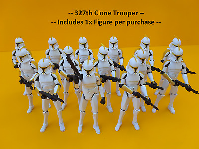 STAR WARS ™ Clone Wars Clone Trooper Figure 327th Attack Battalion