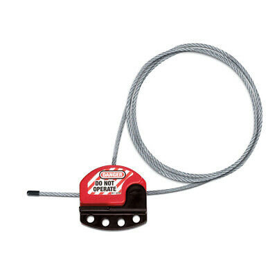 MasterLock S806 Adjustable Cable Lockout 1830 x 4mm | AUTHORISED DEALER