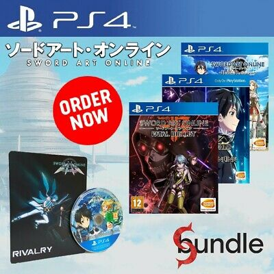 SWORD ART ONLINE: The Collection Bundle [PS4] Game - Sony PlayStation 4 UK PAL